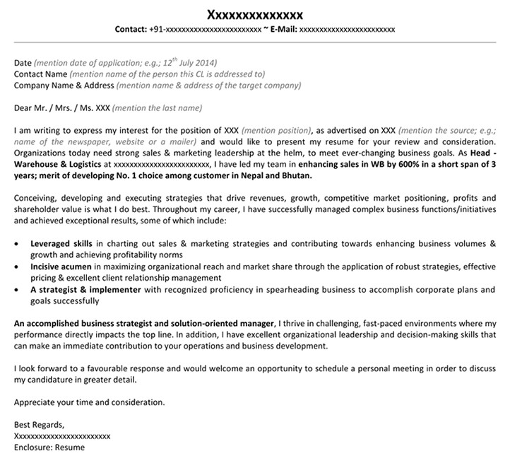Developing A Cover Letter Cover Letter Marketing Business Development tomyumtumweb Com