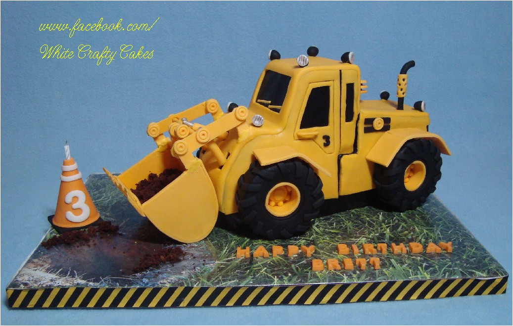 Digger Cake Template 3d Digger Cake Tutorial by Yeners Way Cake Art Tutorials