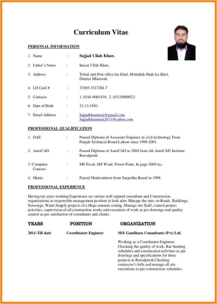 literarywondrous resume format for diploma in civil engineering templates engineer fresher 18 sample