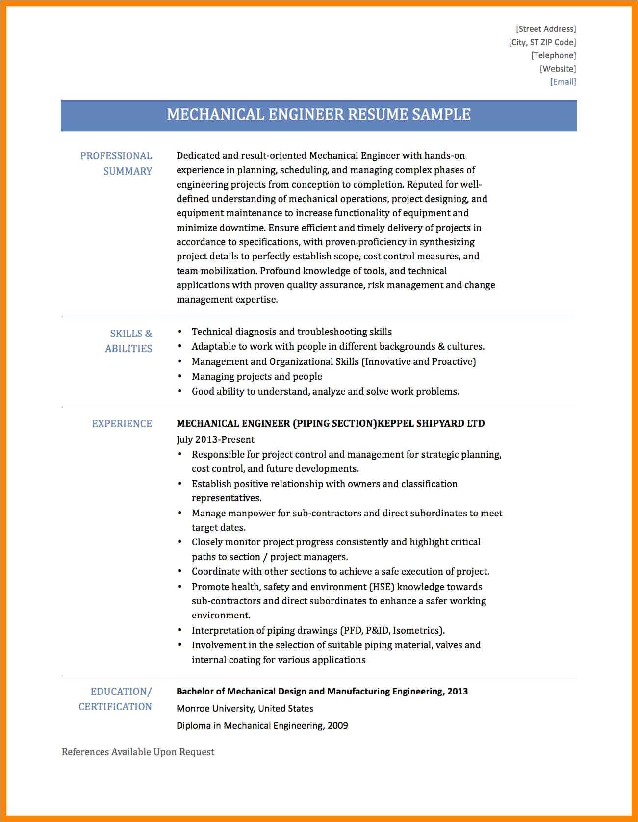 sample resume of a civil engineer beautiful resume format for diploma in civil engineering beautiful sample
