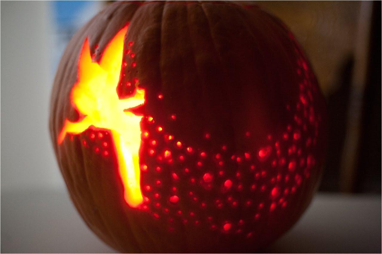 tinkerbell pumpkin template