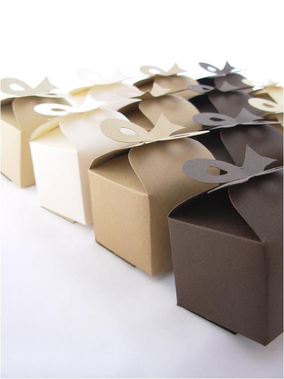 diy wedding favor bon bon box template