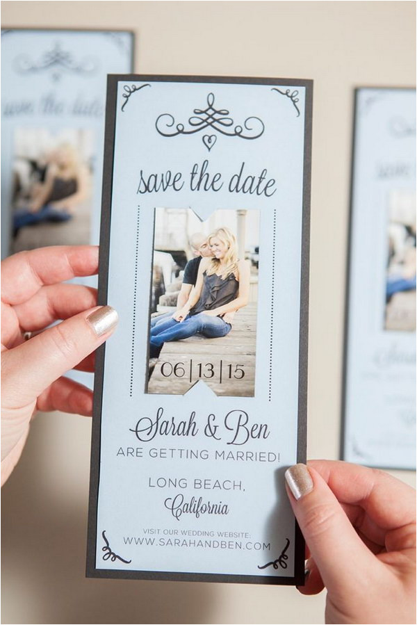 fun and creative save the date ideas
