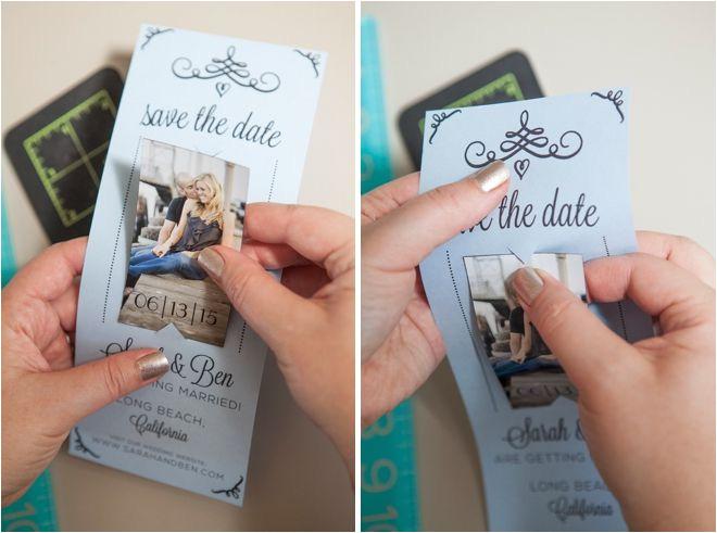 diy wedding save the date ideas