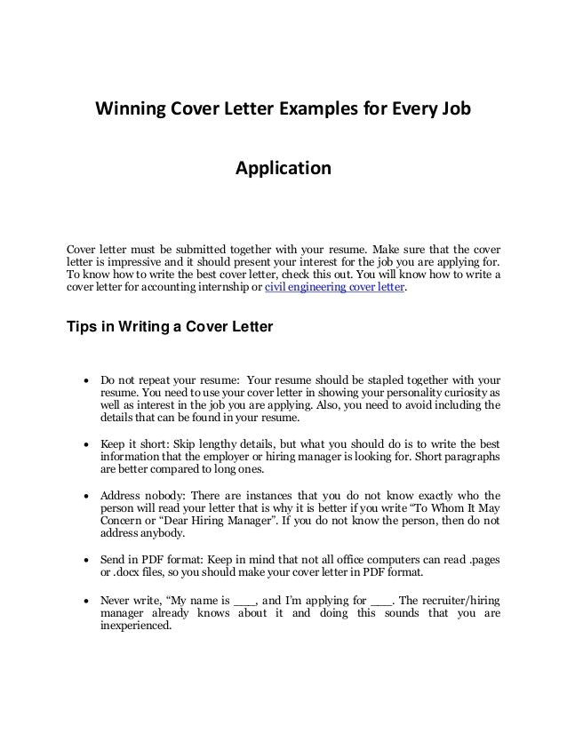 Do I Need A Cover Letter for My Resume Need A Cover Letter for My Resume tomyumtumweb Com
