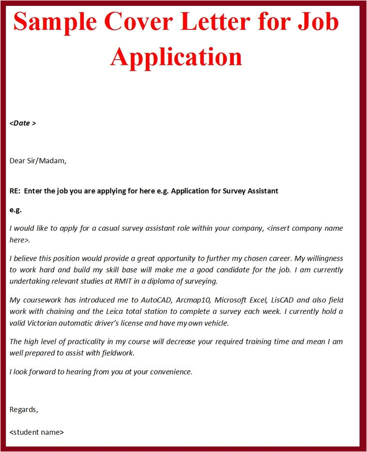 Do I Need to Write A Cover Letter Writing formal Cover Letters Need A Sample Of formal