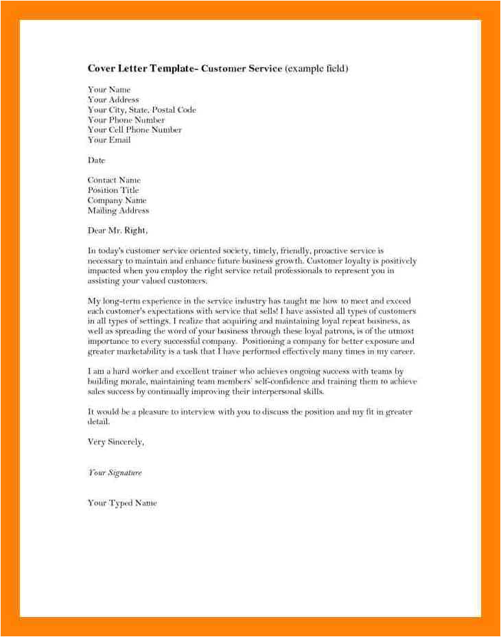 10 signing a cover letter