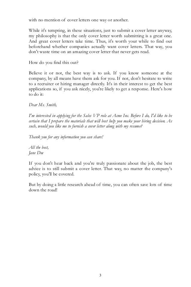 do recruiters read cover letters download cover letter guide