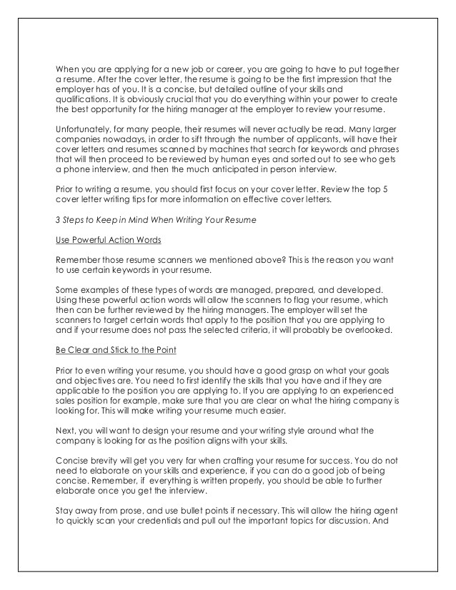 Do You Need A Cover Letter for Your Resume Do You Need A Cover Letter for Your Resume tomyumtumweb Com