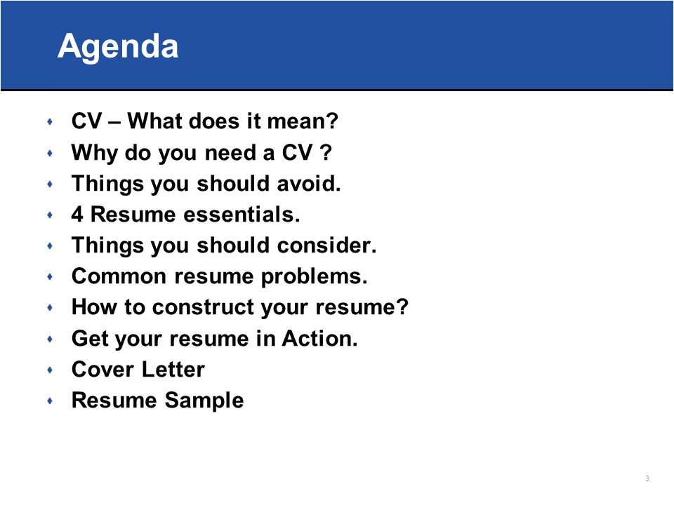 Do You Need A Cover Letter with A Cv How to Write A Cv that Talks for You Ppt Download