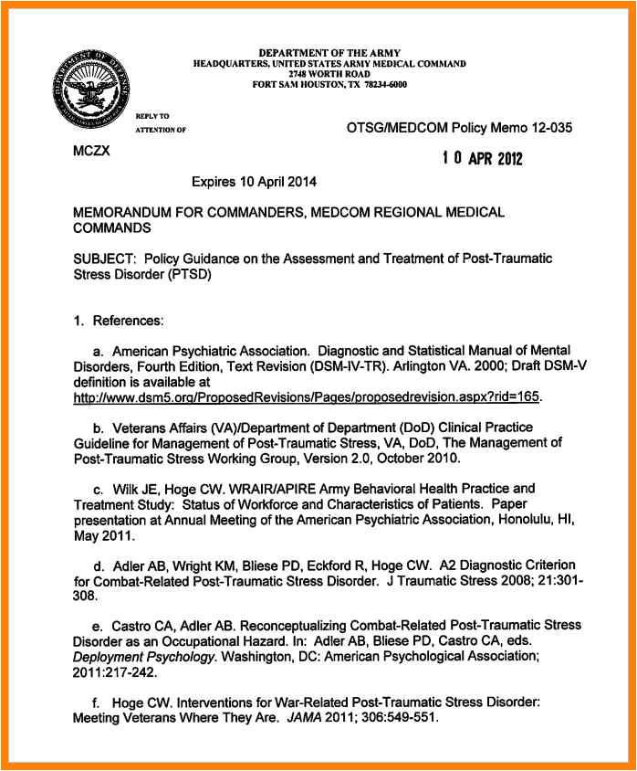 Dod Memo Template 6 Military White Paper format Edu Techation