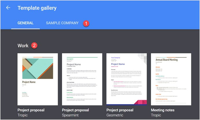 google docs letterhead template