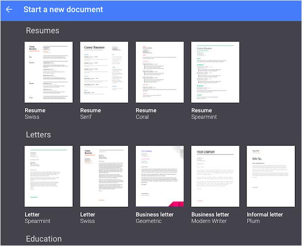 google docs templates 7324