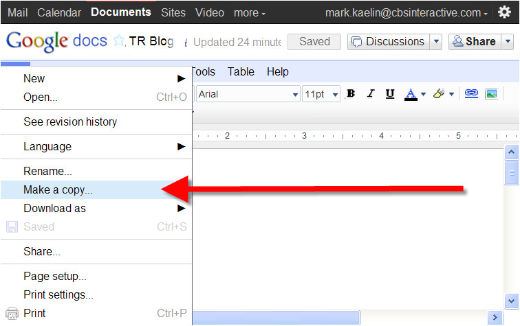 yes you can make google docs templates but do you really want to