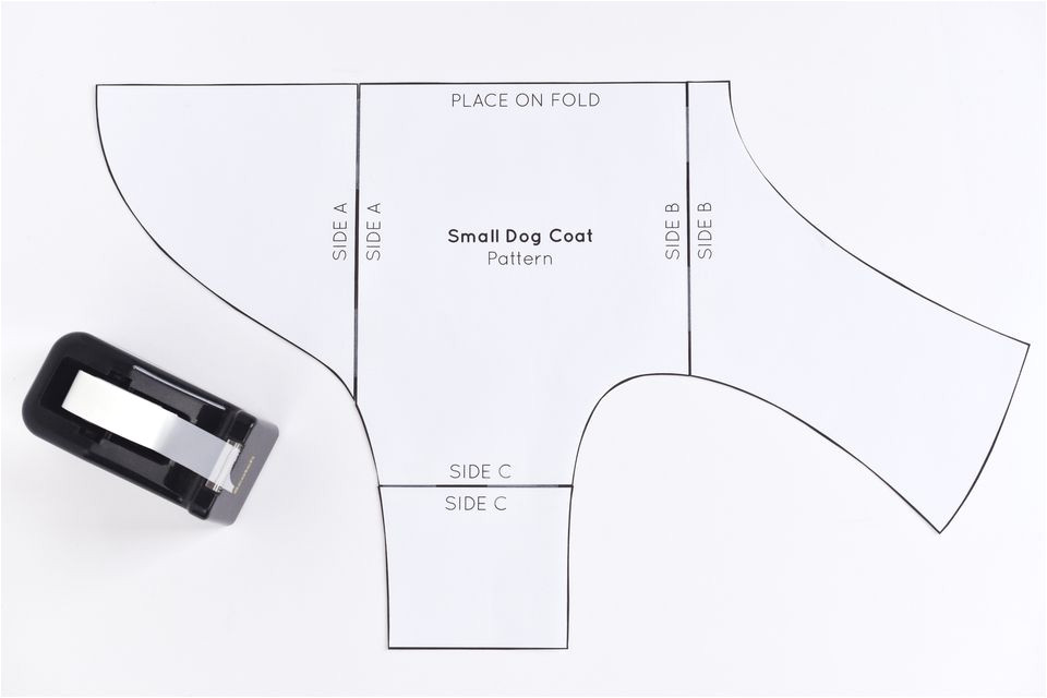 sew a dog coat pattern 2977690