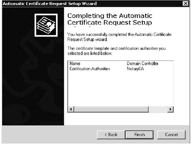Domain Controller Certificate Template Active Directory Advanced Authentication Check Point