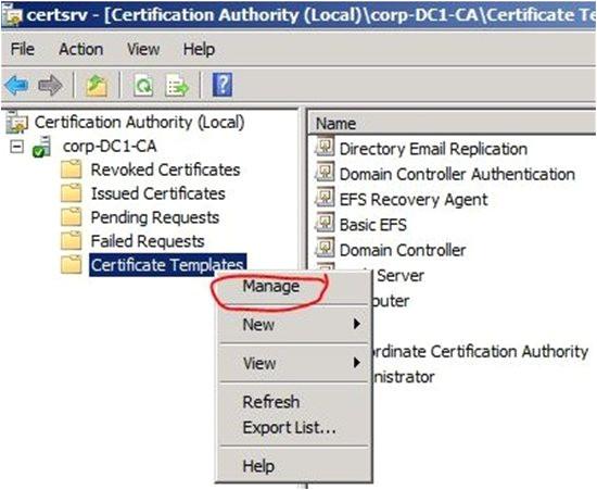 2980 ldap over ssl ldaps certificate