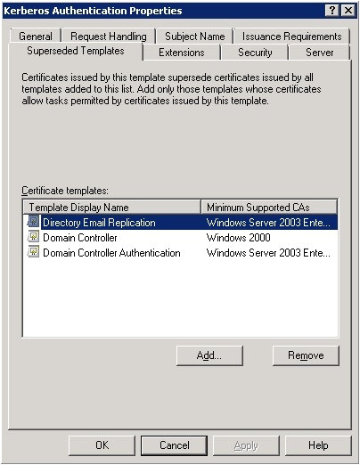 replacing legacy domain controller certificates