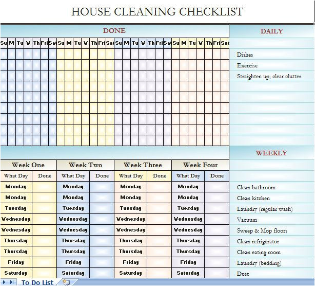 Domestic Cleaning Schedule Template 25 Best Ideas About Cleaning Schedule Templates On
