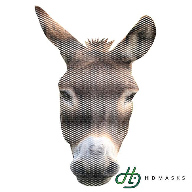 post printable donkey mask 430233