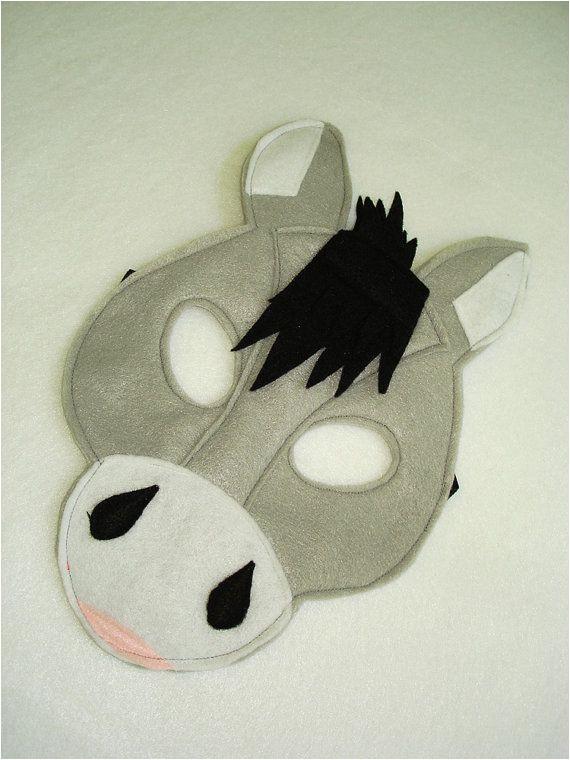 Donkey Face Mask Template Best 25 Donkey Mask Ideas On Pinterest Horse Mask Face