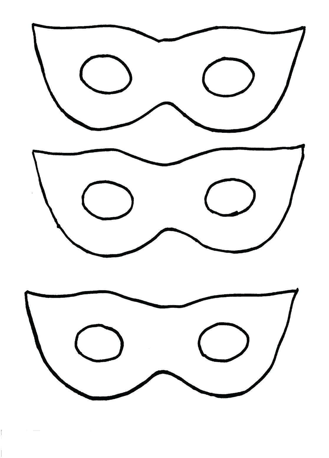 donkey face mask template