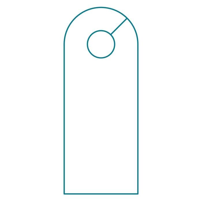 Door Hanger Template Indesign Diy Do Not Disturb Door Hanger Template Templates
