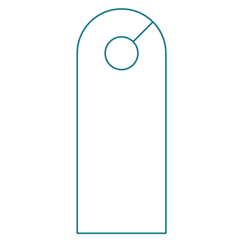door hanger template illustrator