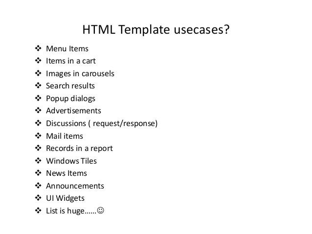 html templating dot js