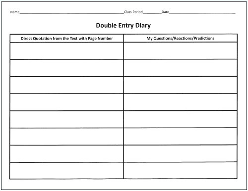 double sided journal entry template double sided journal entry template template design ideas 5