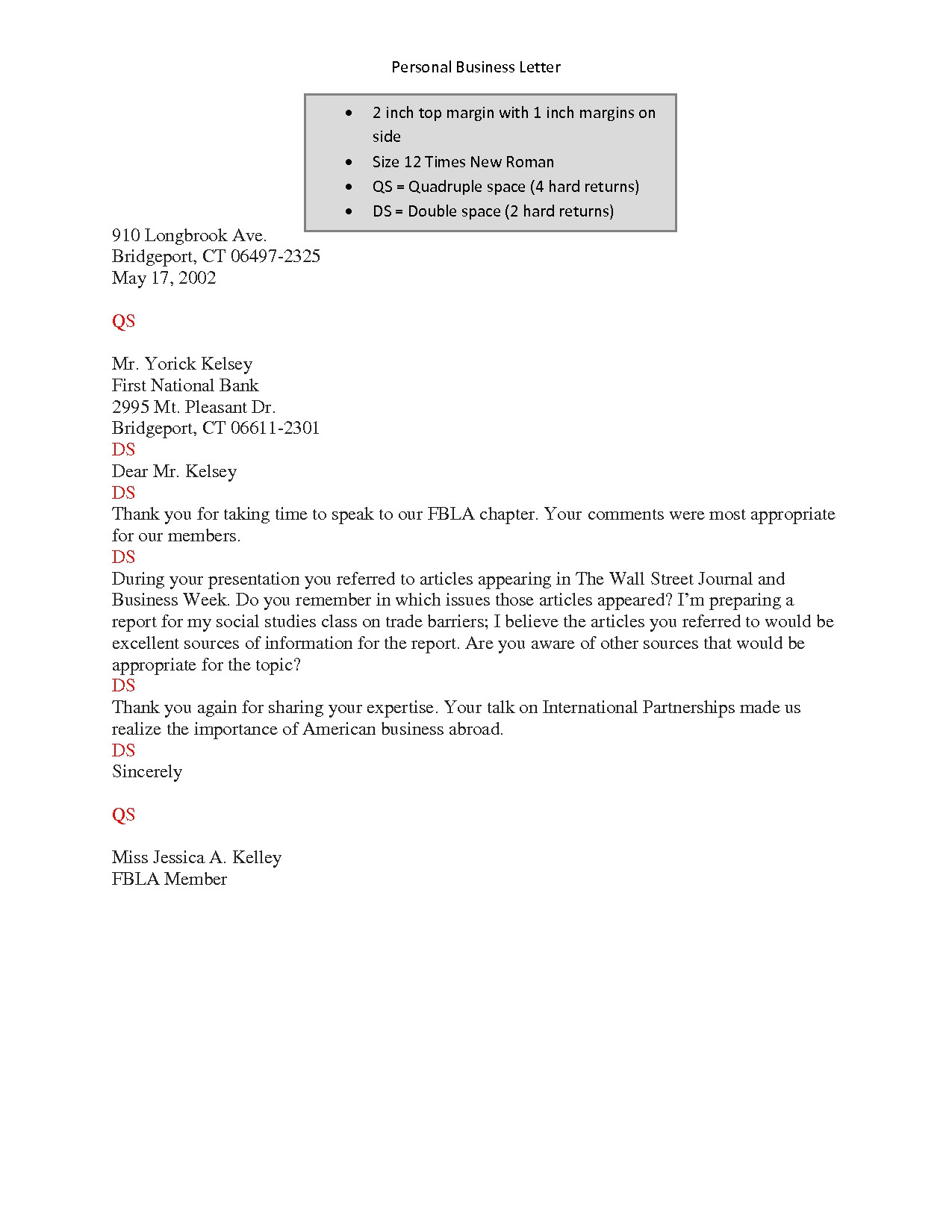 Double Space Cover Letter is A Business Letter Double Spaced the Letter Sample
