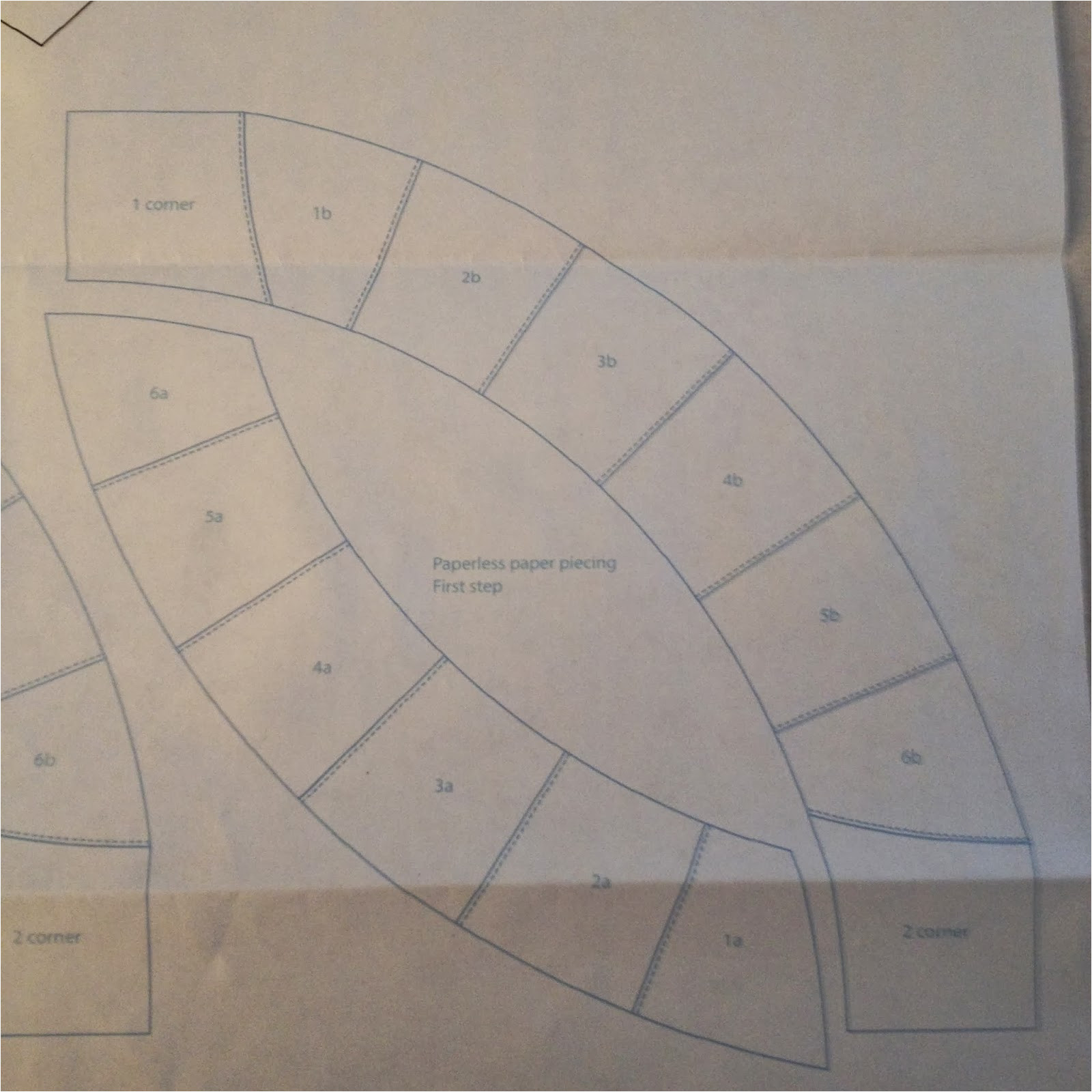 35883395 double wedding ring quilt along preparing the templates
