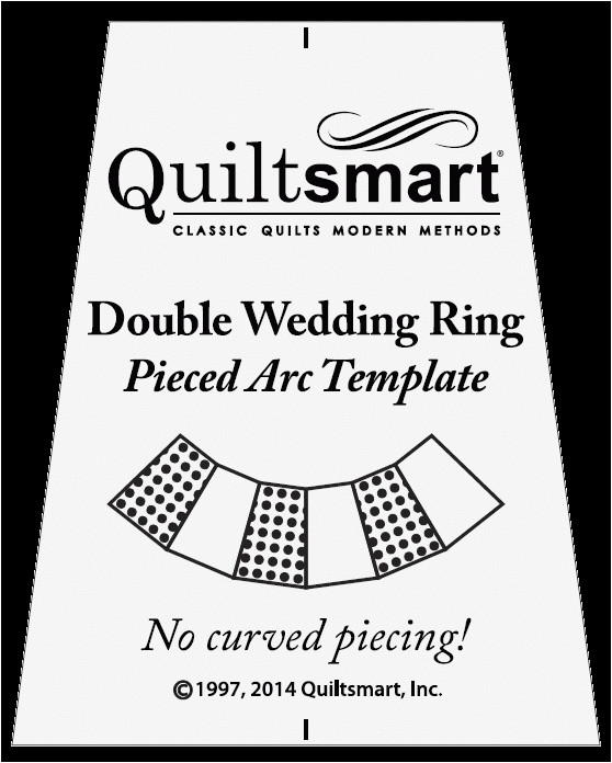 Double Wedding Ring Quilt Templates Free Template for Double Wedding Ring Pieced Arcs Quiltsmart