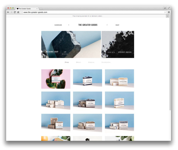 10 well designed squarespace commerce websites