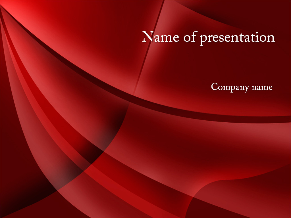Downloading Powerpoint Templates Download Free Red Curtain Powerpoint Template for Presentation