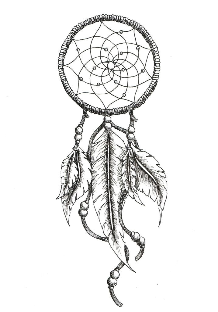 Dream Catcher Tattoo Template Best 25 Dreamcatcher Tattoos Ideas On Pinterest