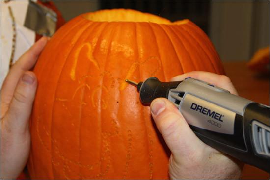 dremel tool pumpkin carving