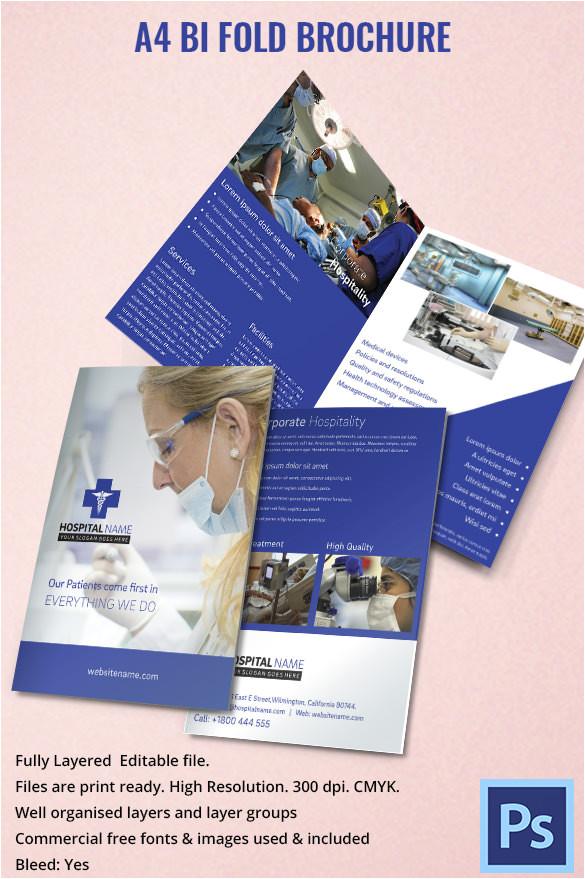 Drug Brochure Template 11 Drug Brochure Templates Psd Illustrator Files