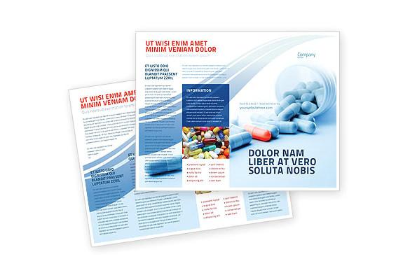 drug brochure template