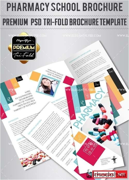 drug brochure template 41 lovely pharmacy brochure template template free