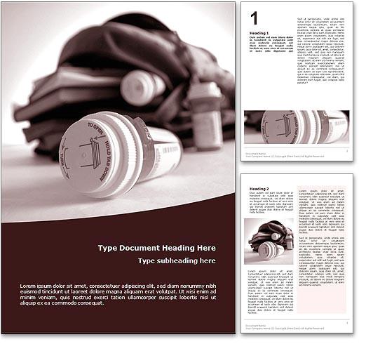 Drug Brochure Template Royalty Free Teenage Drug Abuse Microsoft Word Template In Red