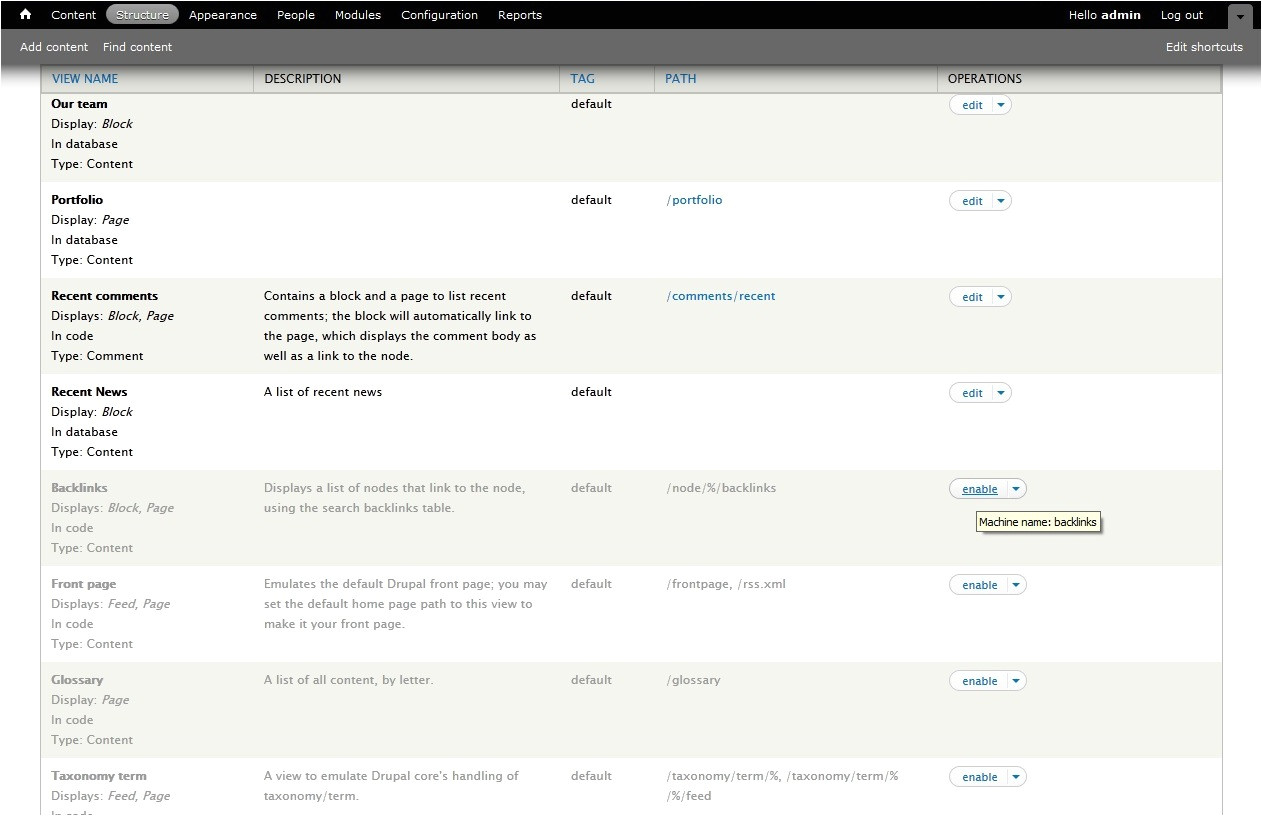 Drupal 7 View Template Drupal 7 How to Use Views Module and Edit Configure It