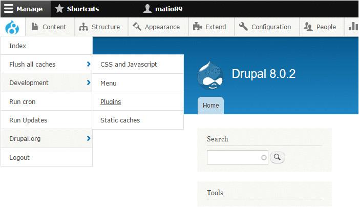 Drupal Admin Template Drupal 8 Module Of the Week Admin toolbar Acquia