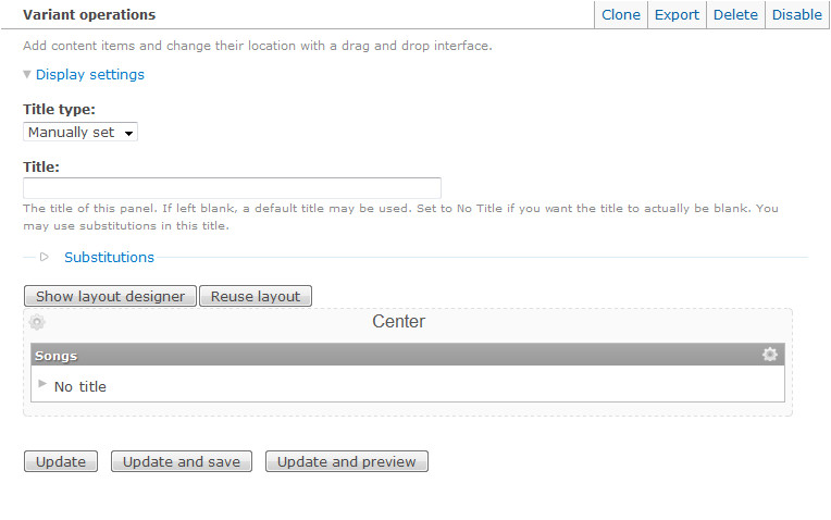 Drupal Custom View Template Drupal Customize Node Template with Panel Eureka