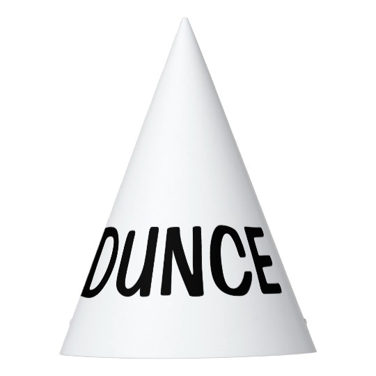 dunce hat diy custom party hats 256345230090467742