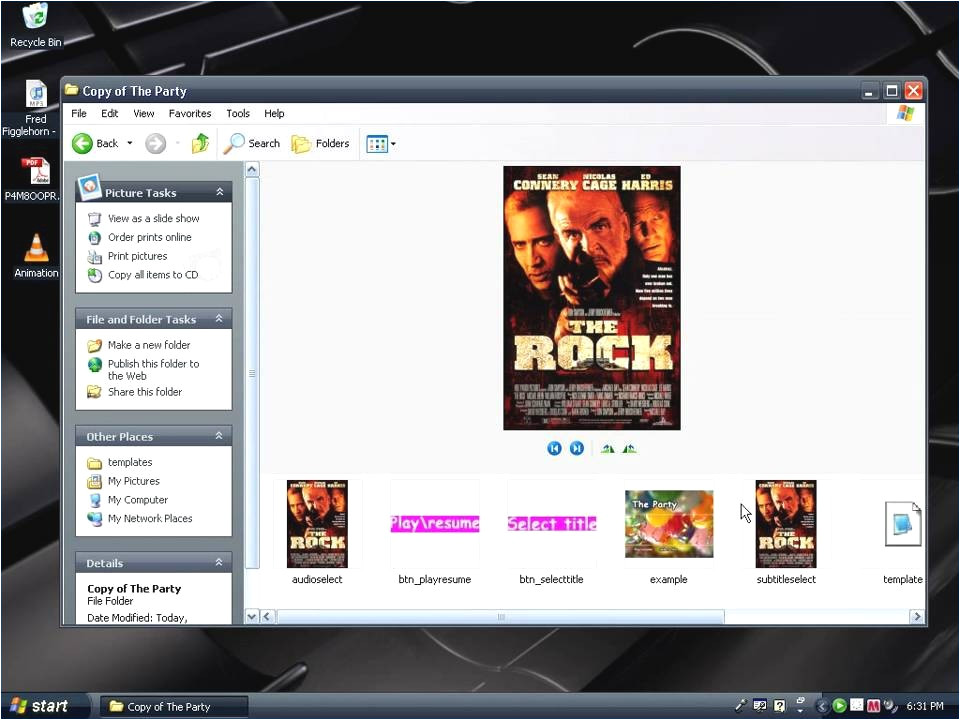 dvd flick menu templates