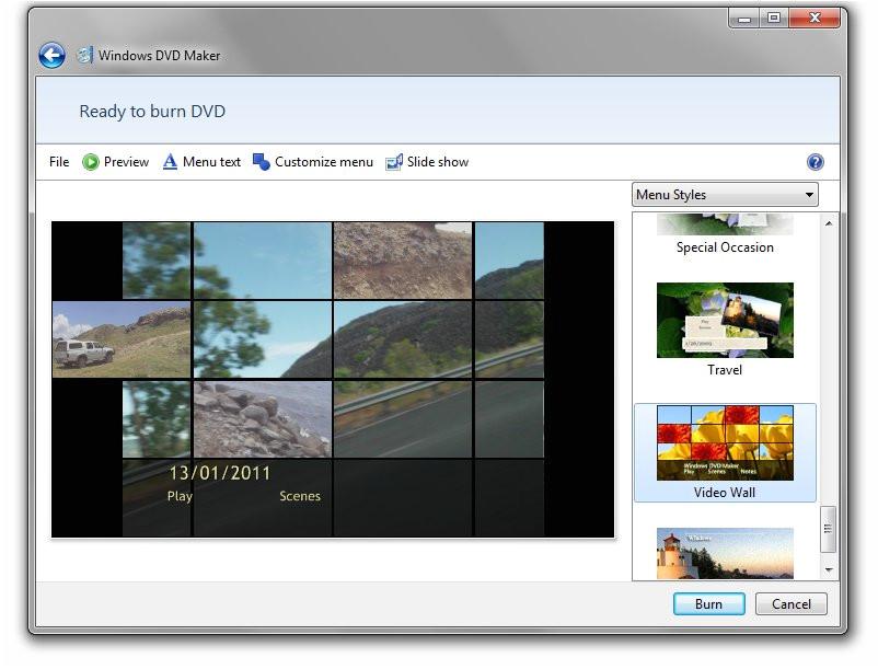 dvd flick menu templates making a dvd using windows live movie maker