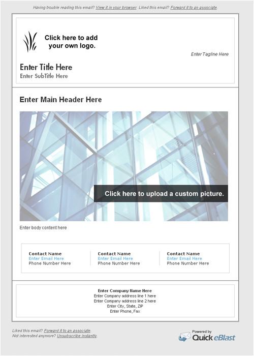 E Blast Templates Free Quick Eblast Email Campaigns Made Easy