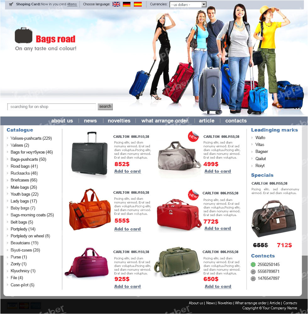 post free ecommerce templates photo gallery 347270