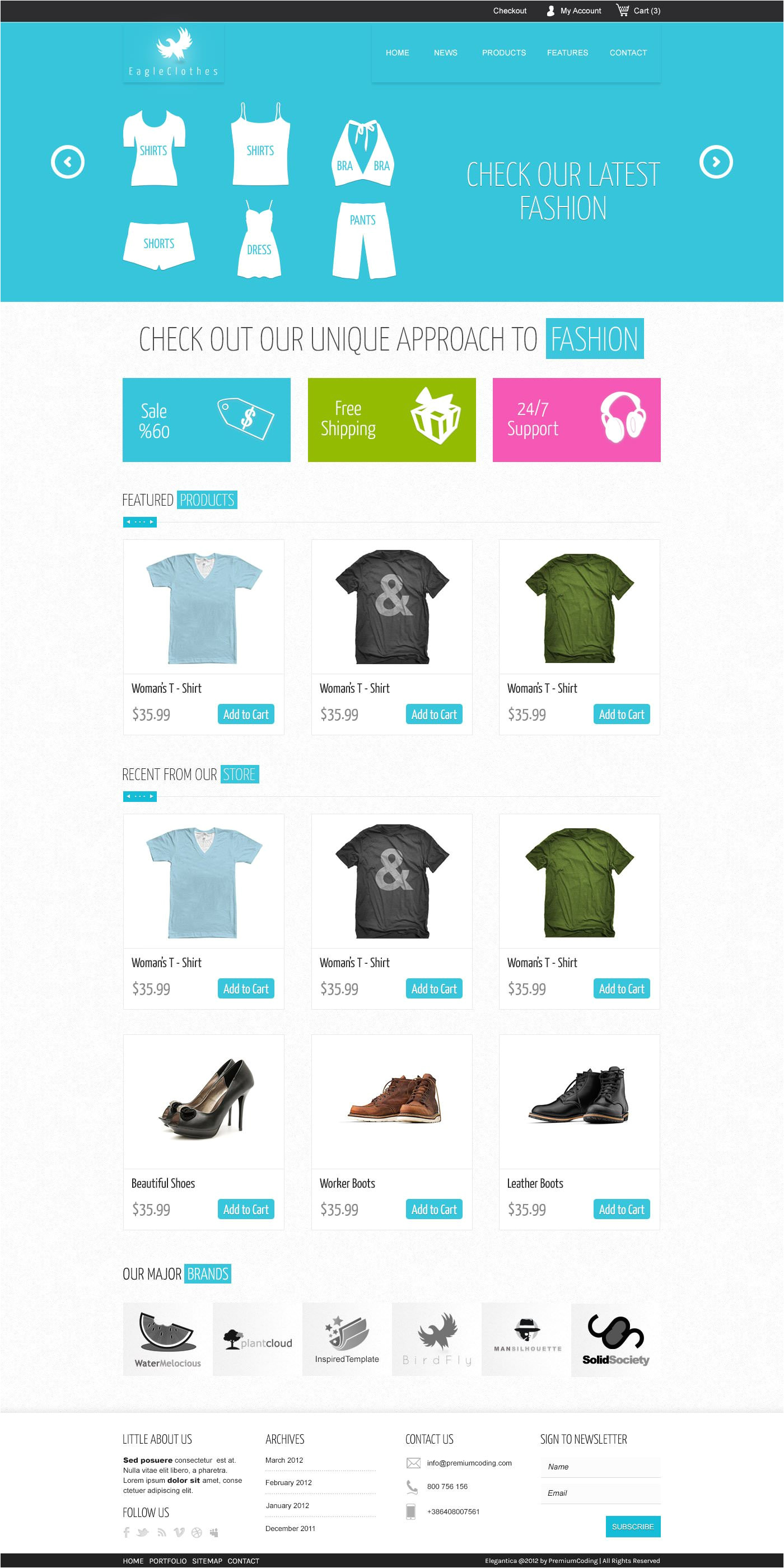 E Commerce Sites Templates Download 15 Free Psd E Commerce Website Designs Free